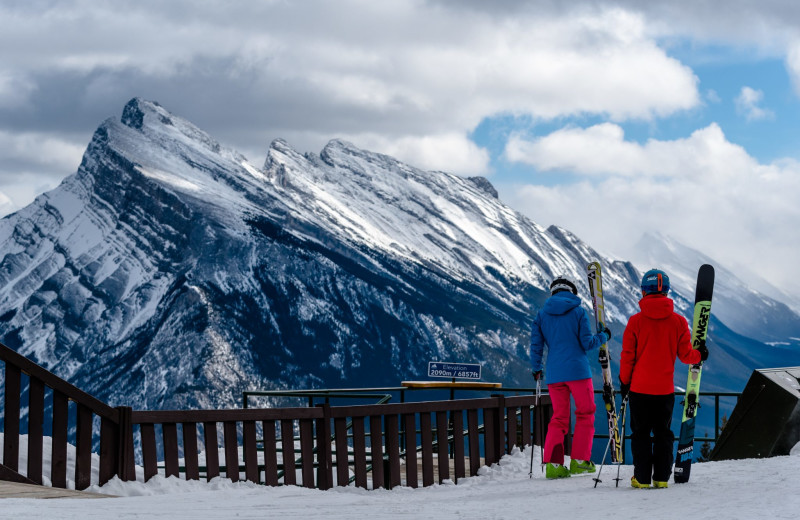 Skiing at Banff Ptarmigan Inn.