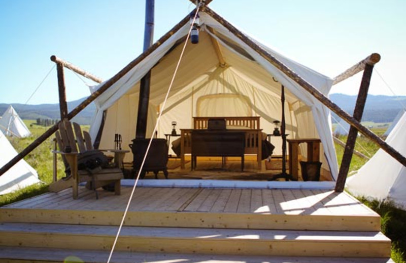 Luxury Tent Camping at Yellowstone Under Canvas