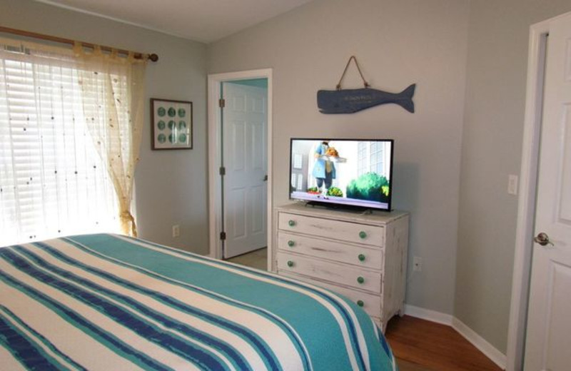 Guest Bedroom at Long Key Vacation Rentals