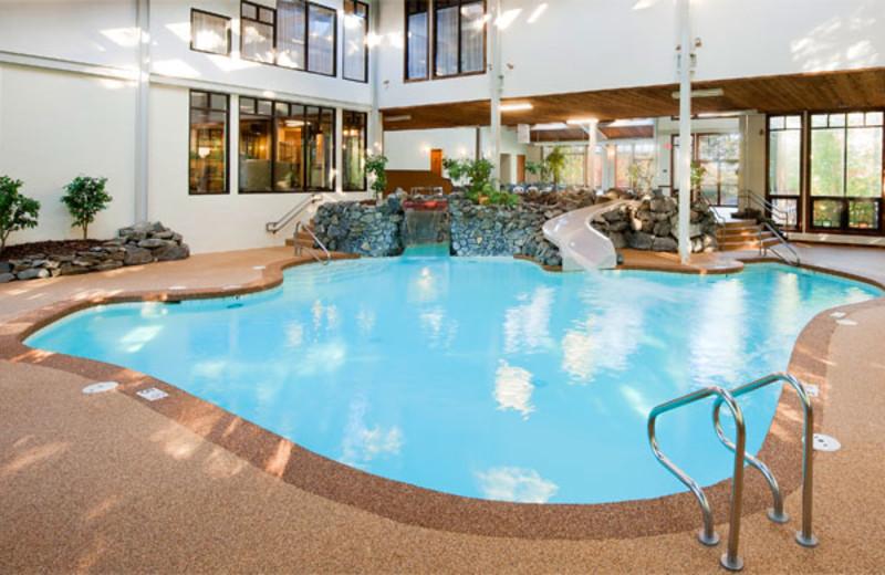 Indoor pool at Summit Resort.