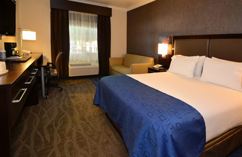Guest Room at Holiday Inn Express Hotel & Suites Santa Clara