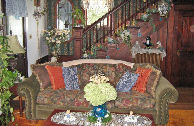 Sitting area at Country Haven B&B.