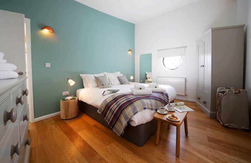 Cottage bedroom at Yorkshire Dales.