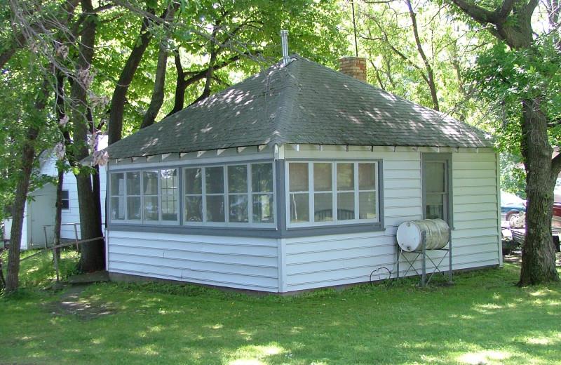 Cabin at Long Lake Resort.