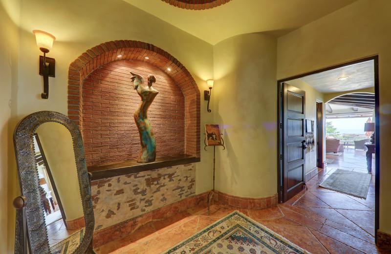 Entry at Casa Mar y Estrella.