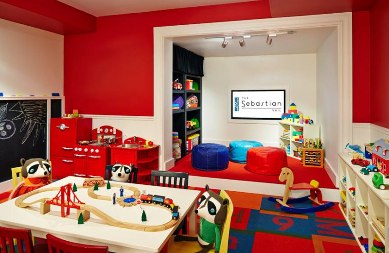 Kid's play room at The Sebastian Vail.
