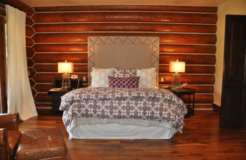 Vacation rental bedroom at SilverStar Luxury Properties.