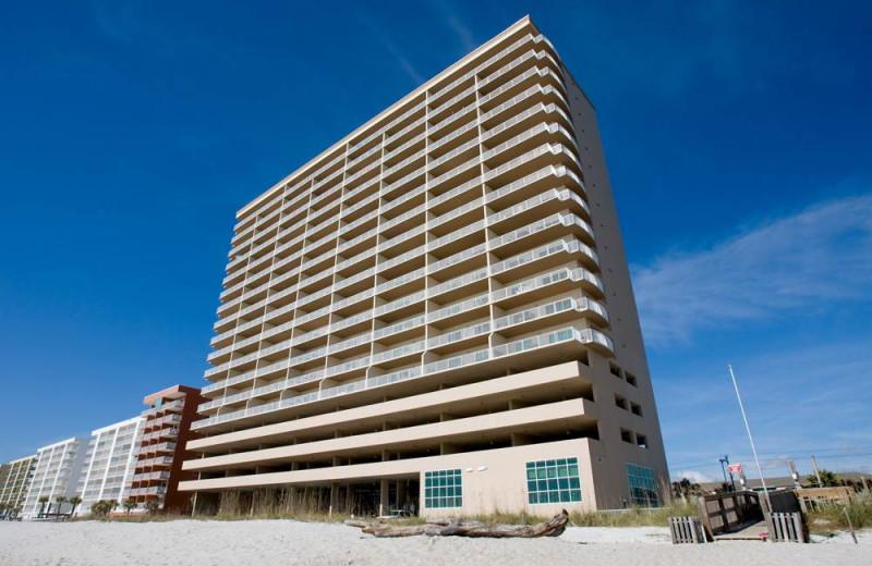 Rental exterior at Gulf Shores Rentals.