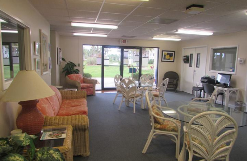 Open Club House at Beach Vacation Rentals.