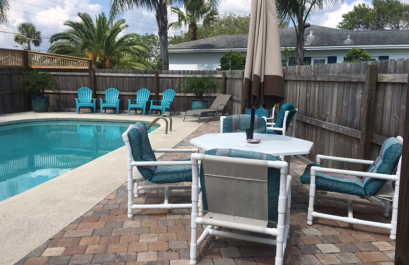 Rental pool at Saint Augustine Beach Vacation Rentals.