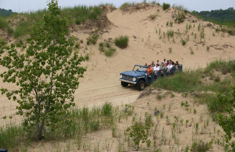 Sand dune tour near The Hotel Saugatuck.
