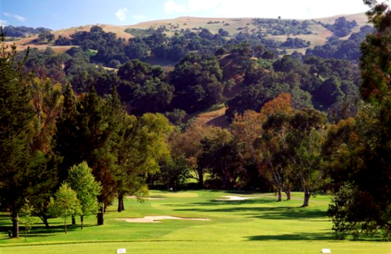 Golf course at Alisal Guest Ranch and Resort.