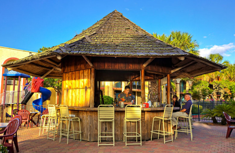 Tiki Bar at Maingate Lakeside Resort.
