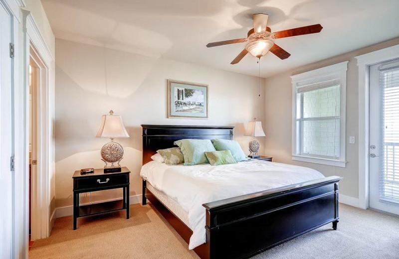 Rental bedroom at Pointe West Properties.