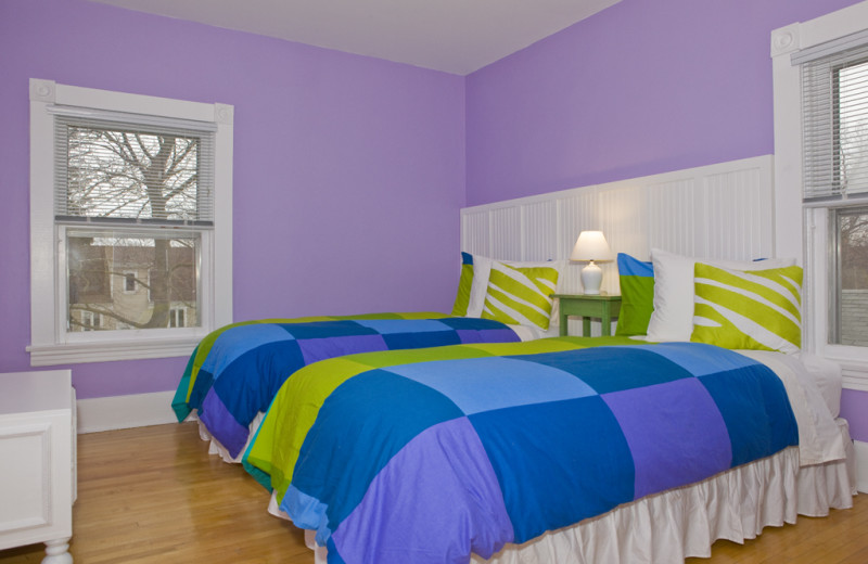Bedroom at Niagara Holiday Rentals