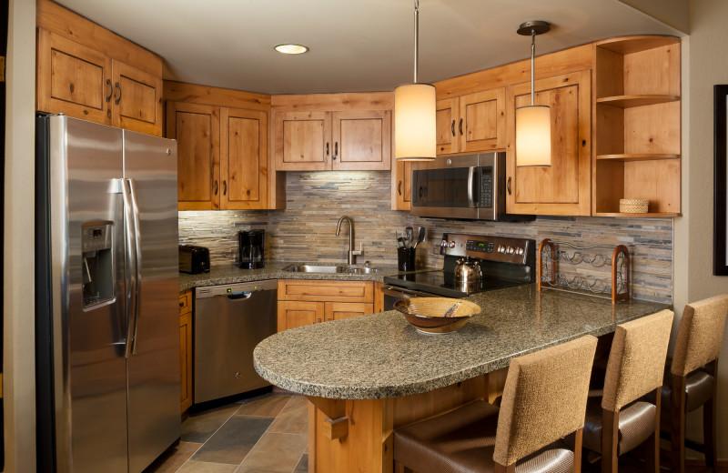 Guest kitchen at Grand Summit.