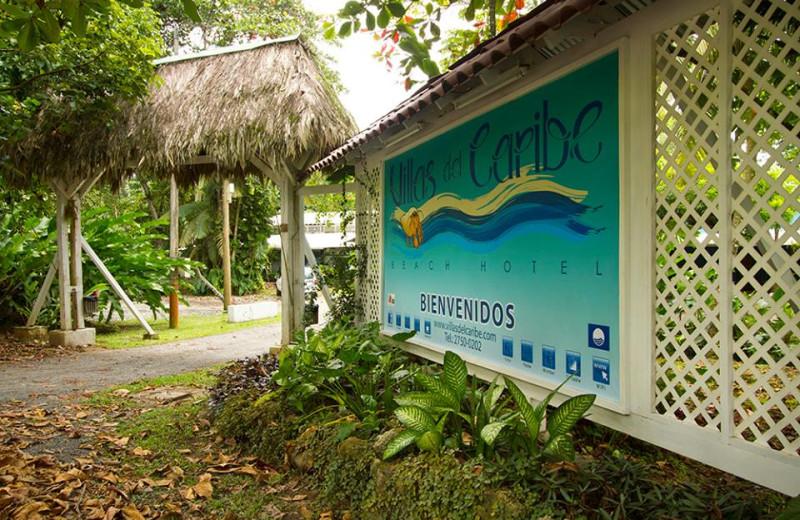 Exterior view of Villas del Caribe.