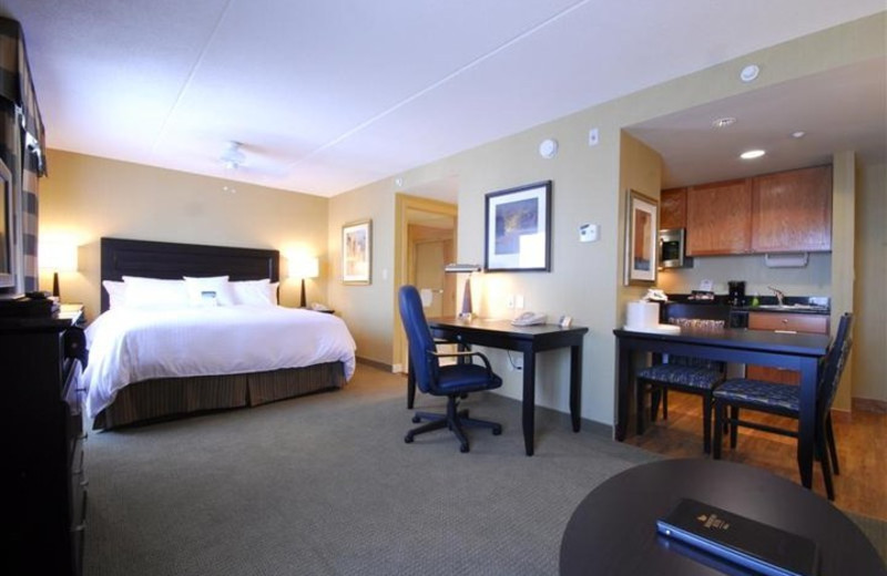 Guest Room at Homewood Suites by Hilton London Ontario