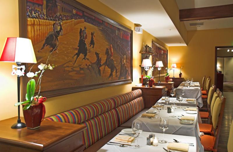 Dining at Vino Bello Resort.