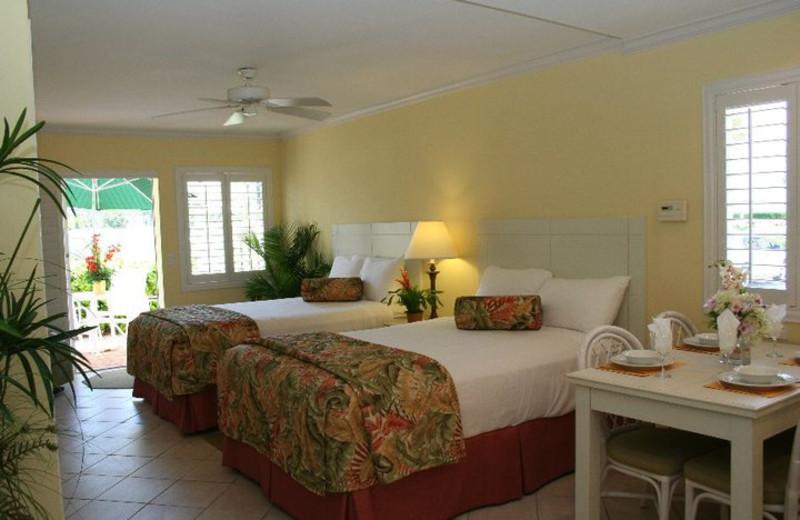 Guest room at The Inn at Venice Beach.