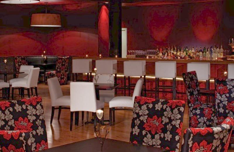 Lounge area at La Torretta Lake Resort.