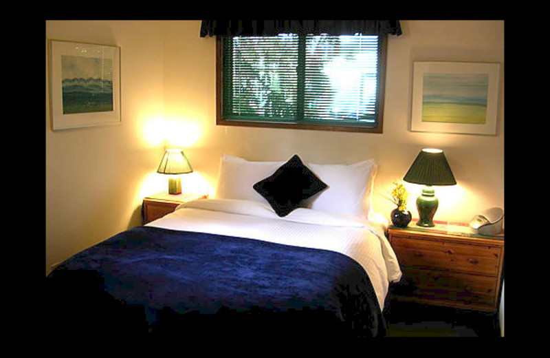 Guest room at Treetops Banff Bed and Breakfast.