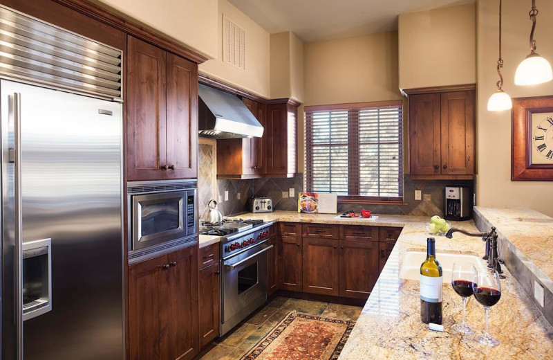 Guest kitchen at Pronghorn Resort.