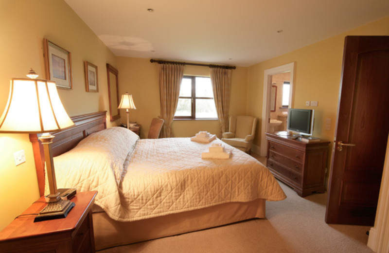 Guest room at Adare Manor Limerick.
