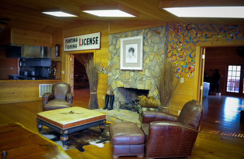 Guest lounge at Buckhead Ranch.