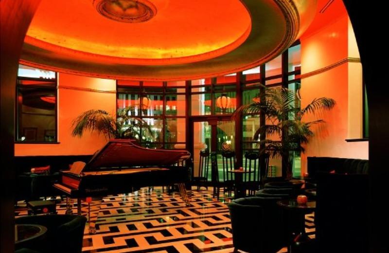 Lounge at Grand Bohemian Hotel Orlando.