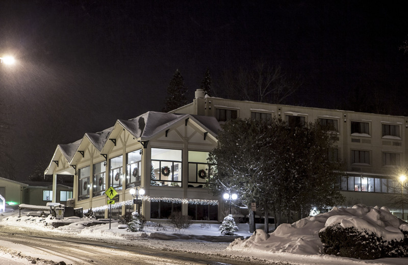 Winter at Lake Placid Summit Hotel Resort Suites.