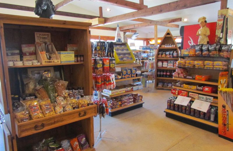 General store at High Country Guest Ranch.