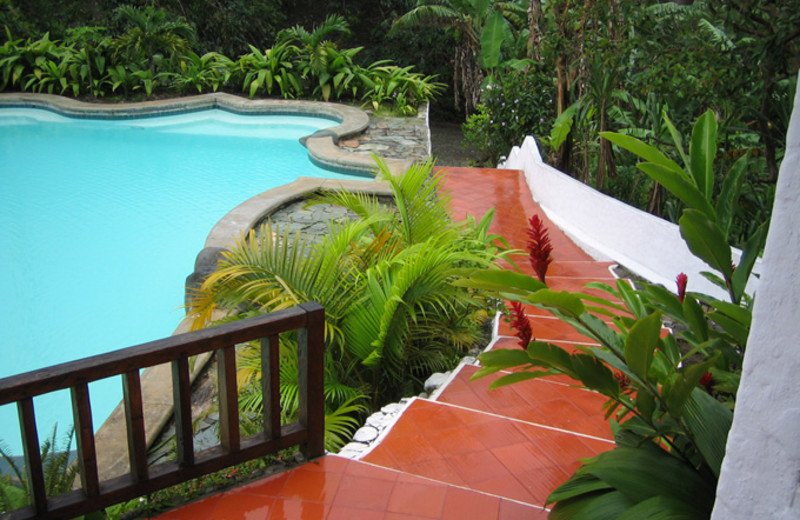 Outdoor pool at Hacienda Primavera Wilderness Ecolodge.