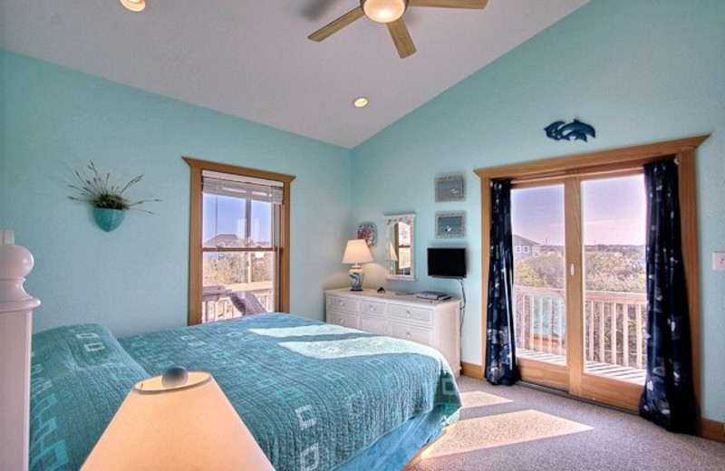 Bedroom View at Hatteras Realty
