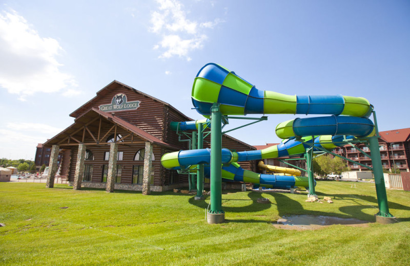 Exterior view of Great Wolf Lodge - Kansas City.