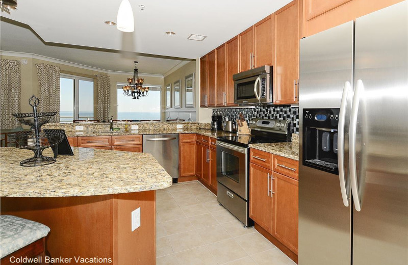 Rental kitchen at CBVacations.com