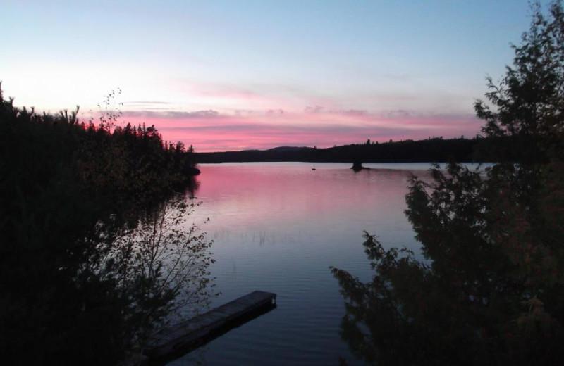The Lake at Houston Lake Camp