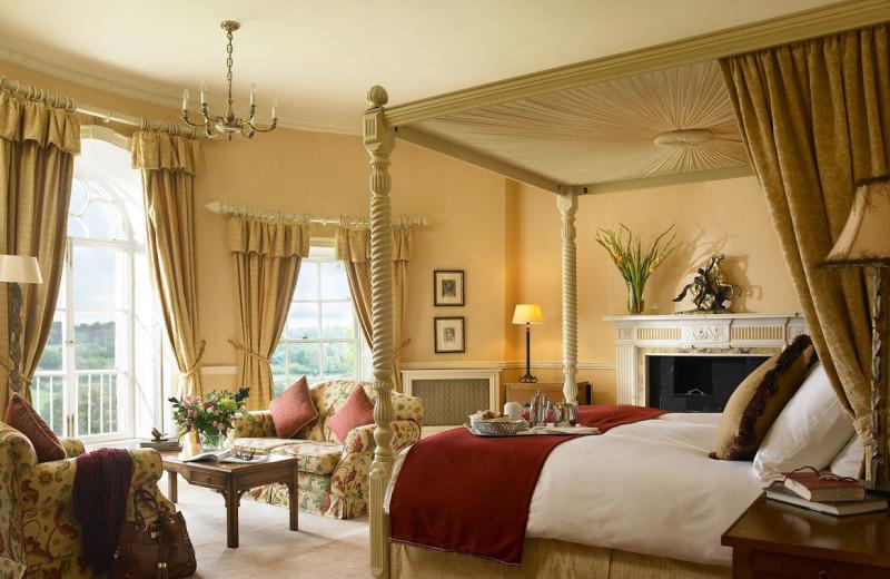 Guest room at Mount Juliet Estate.