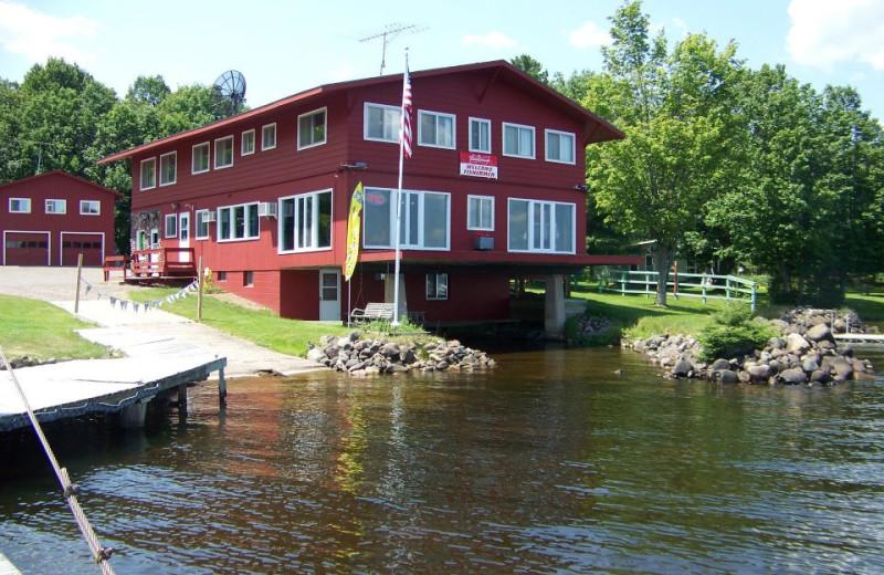 Exterior view of Fishtales Resort.