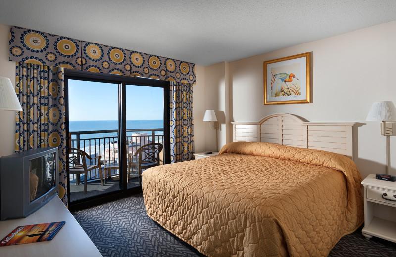 Guest room at Ocean Reef Resort.