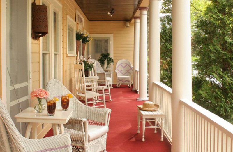Front Porch at The Spencer Hotel