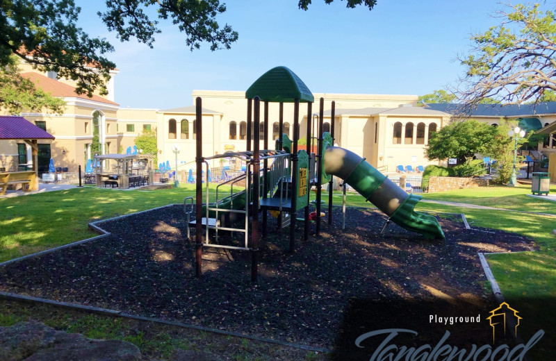Playground at Tanglewood Resort and Conference Center.