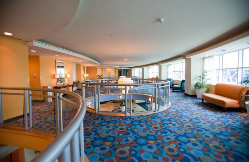 Interior view of Avista Resort.