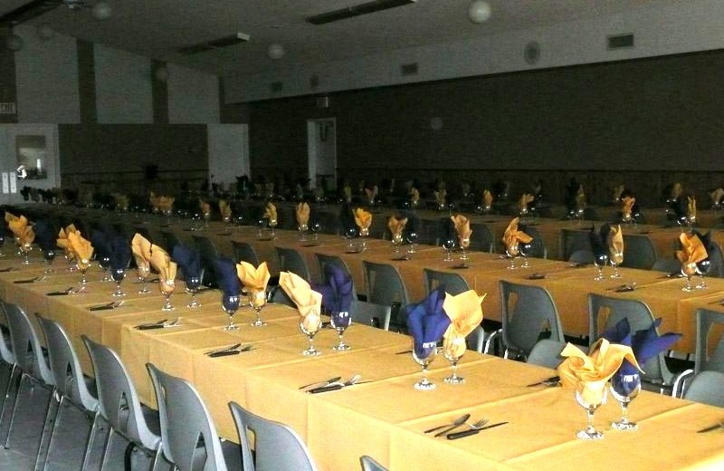 Banquet Hall at Good Spirit Golf Resort