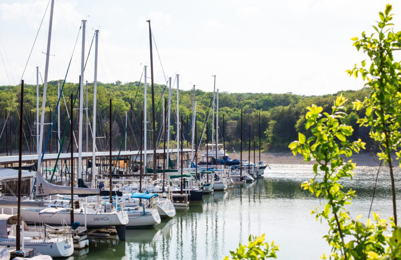 Marina at Tanglewood Resort and Conference Center.