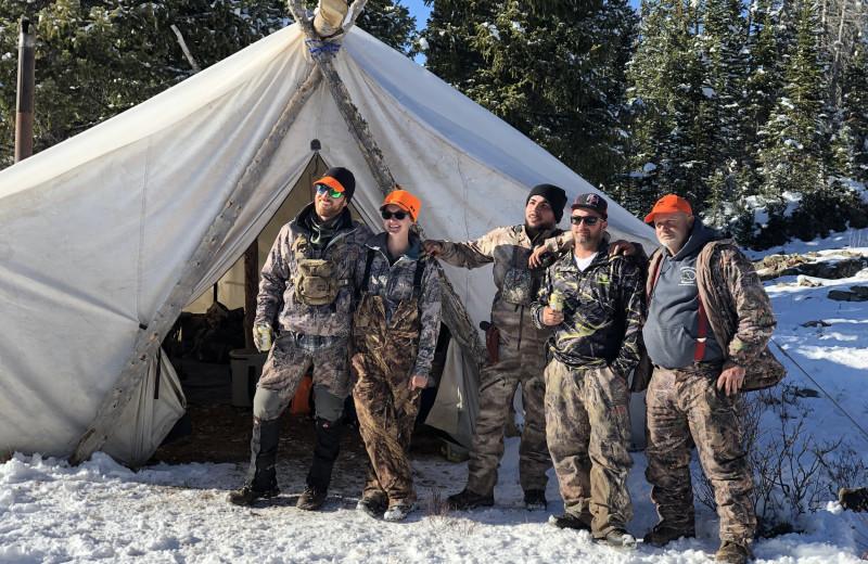 Hunting at Trappers Lake Lodge & Resort.