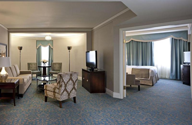 Guest room at Delta Bessborough.