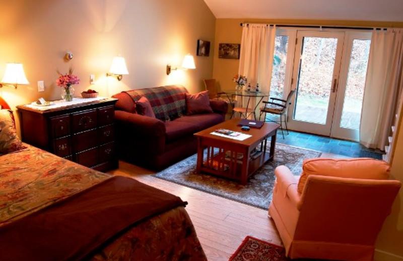 The Clark Room at Shaker Mill Inn.