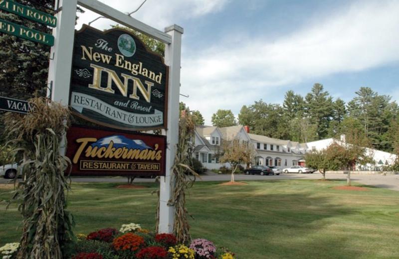 Inn entrance at The New England Inn & Lodge.