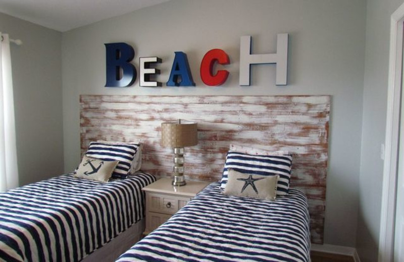 Kid's room at Long Key Vacation Rentals